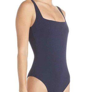 Heidi Klein Carlisle Bay Lace Back One-Piece Swim